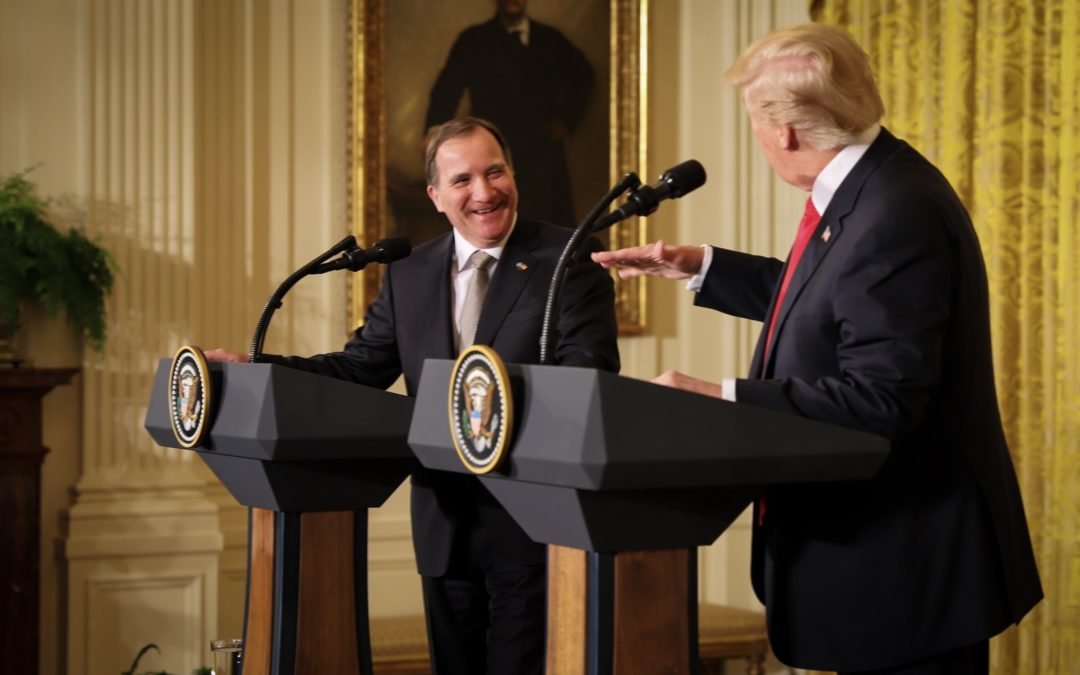 Prime Minister Stefan Löfven's Vist to the White House
