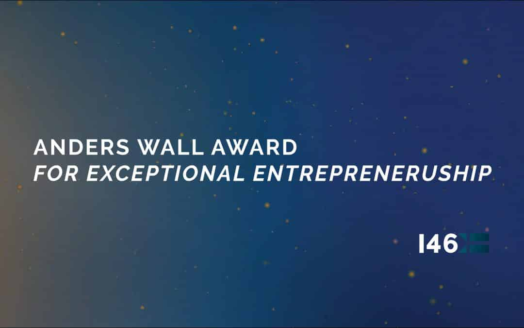 The Anders Wall Award for Exceptional Entrepreneurship: Här är de nominerade entreprenörerna