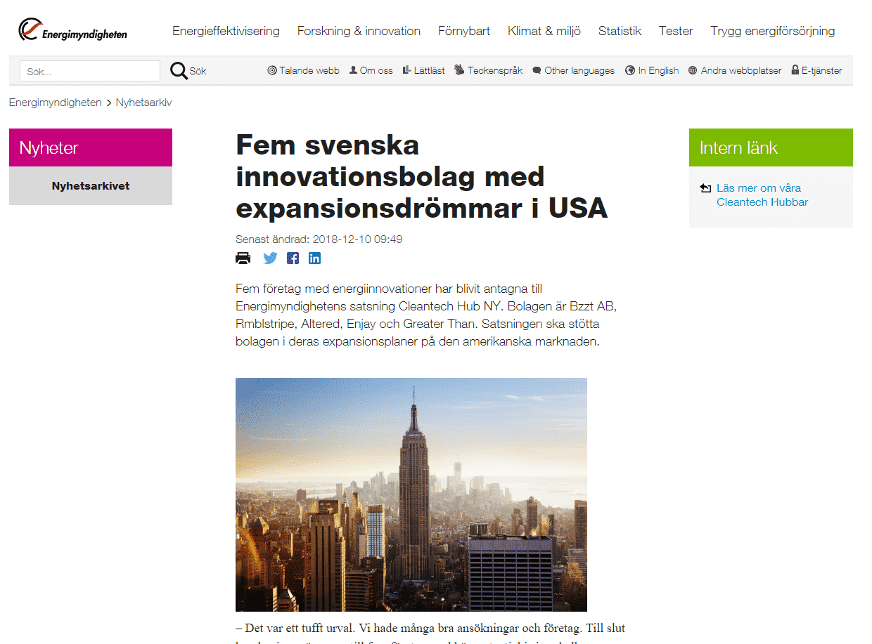 Svenska foretag pa internet