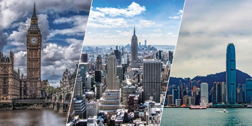 Gain Membership Benefits from New York, London and Hong Kong