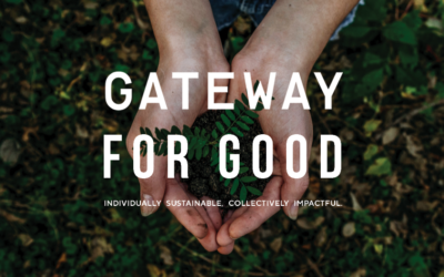 Announcing the sustainable charity event at gateway