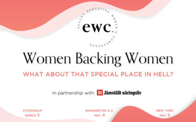 Save the dates – the executive women's conference is back!