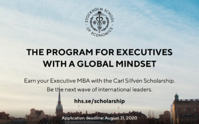 The program for executives with a global mindset