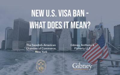 SACCNY Webinar: New U.S. Visa Ban